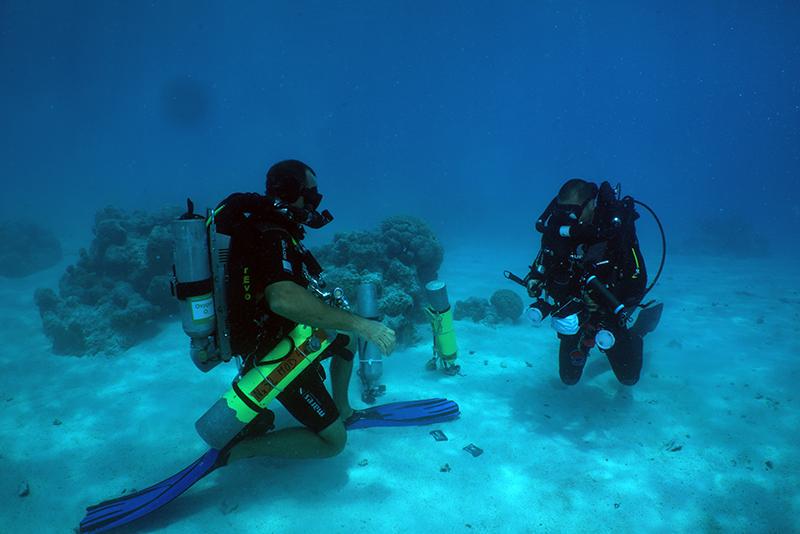 Formation Ap diving Evolution+ test de lestage sans Bail-out